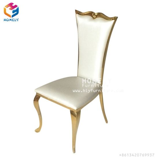 steel chair gold la z boy office china modern classical stainless dining