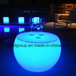 Led Table And Chairs Virco Free Shipping China Rgbw Furniture