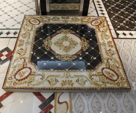China Beautiful Design Crystal Porcelain Carpet Floor Tile