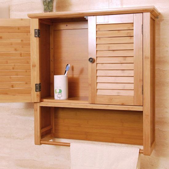 china bamboo modern wall mounted