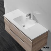 China Modern Solid Surface Resin Bathroom Wash Basin with ...