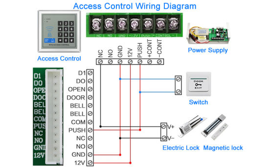 rfid access control wiring diagram for  epiphone