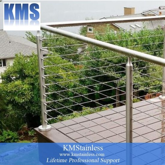 China Diy Stainless Steel Cable Railing Kit China Balcony Cable   Diy Galvanized Pipe Handrail   Simple Pipe   Water Pipe   Paint Pipe   Galvanized Balustrade Steel   Outdoor Pipe