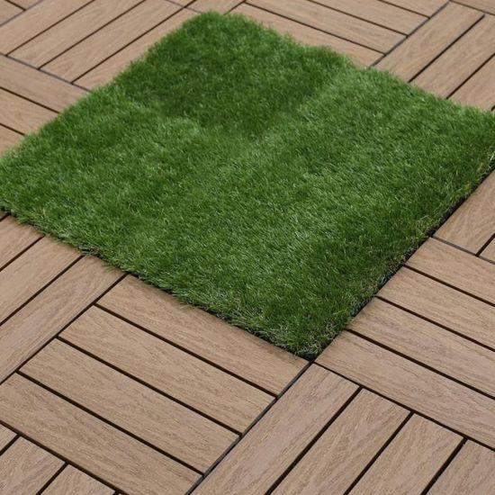 china diy artificial grass tile