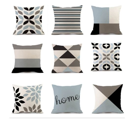 china modern sofa cushion covers cotton
