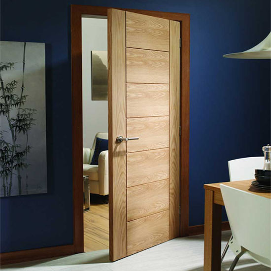 China Interior Bedroom Entry Modern Teak Wood Main Door ...