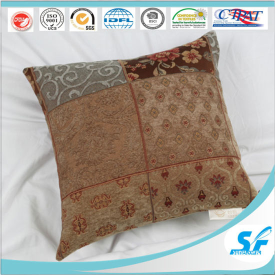 sofa box cushion covers lexington one piece slipcover chinese check square cover for home hotel resturant chair