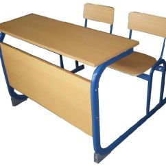 Study Desk And Chair Loft Bed With Trundle China High Quality Double School Student Attached Chairs Reading For