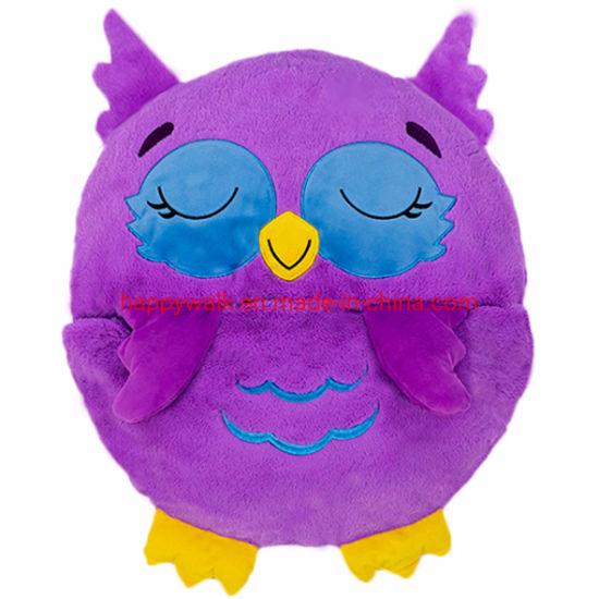 plush owl happy nappers sleeping bag pillow and sleepy sacks for kids