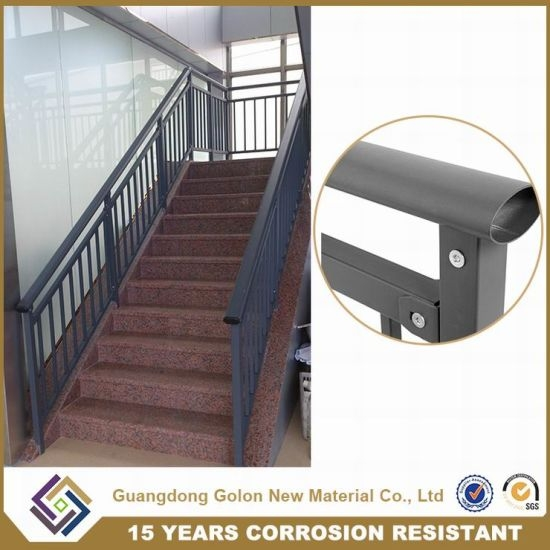 China Outdoor Iron Stairs Cast Iron Staircase Railing China | Exterior Iron Stair Railing | Steel | Exterior Ramp | Cheap | Wood | Contemporary