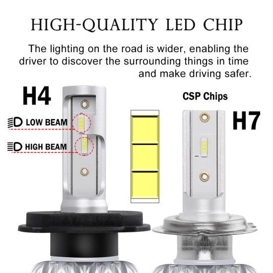 china k1 led headlight 12v cob car