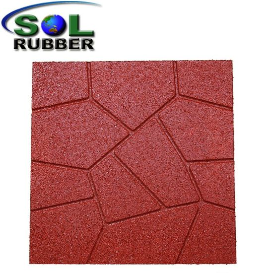 china anti slip durable recycled rubber