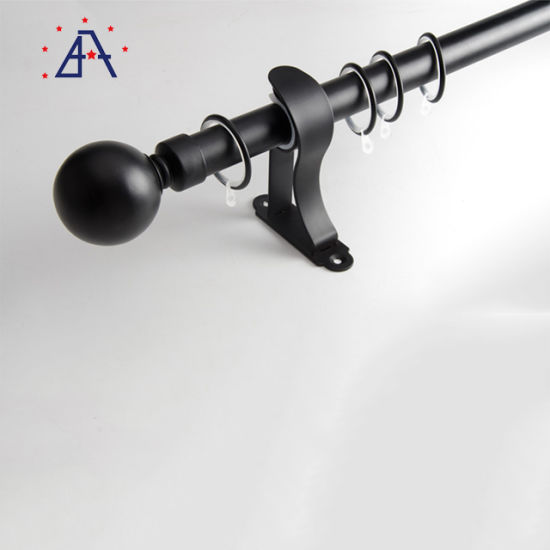 28mm 35mm curtain rod wholesale custom aluminum curtain rods double rod and track curtain rail rod