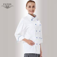 Kitchen Wear Table With Built In Bench China Executive Staff Chef Coat Uniform