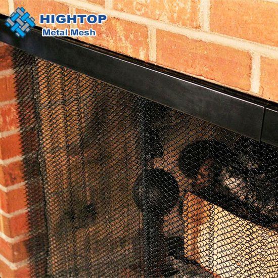 china fireplace mesh curtain