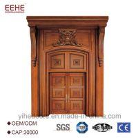 China Exterior Entrance Door with Teak Wood Main Door ...