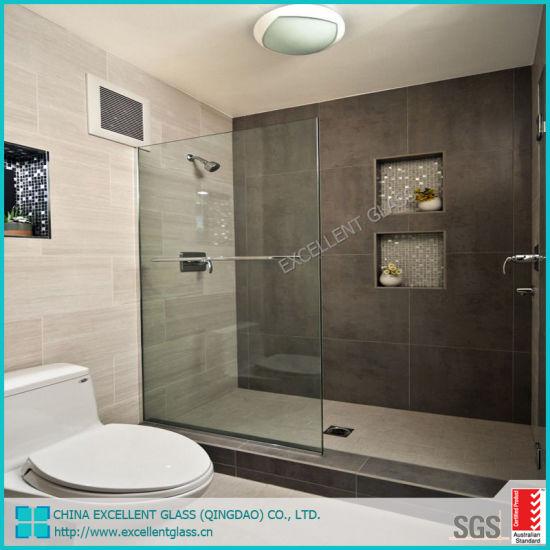 China Custom Frameless 8mm 10mm Shower Door Bathroom Enclosure Glass China 8mm Glass Shower Door