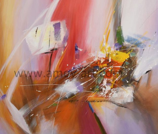 Multi Colors Abstract Oil Paintings For Wall Decor