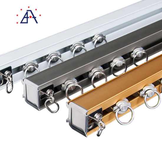 aluminum good quality wholesale curtain rods with brackets
