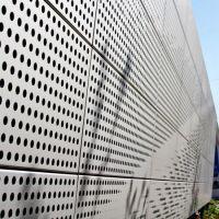 China Laser Cut PVDF Aluminum Perforated Panels Curtain ...