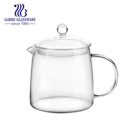 microwave safe glass teapot transparent
