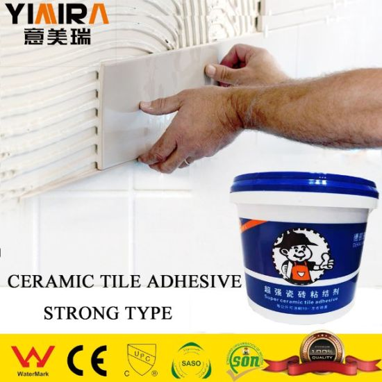 high quality exterior tile adhesive putty supper glue for wall tiles