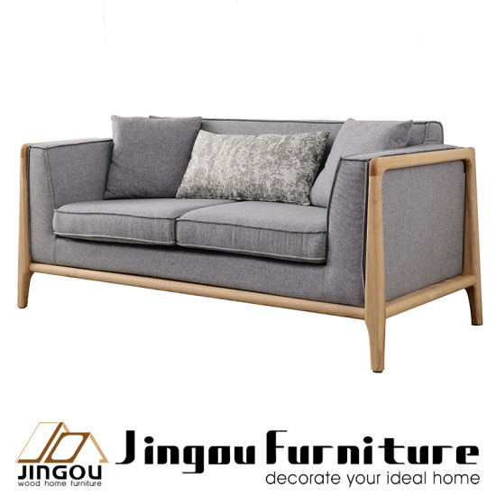 wood frame living room furniture ashley sets 999 china modern home wooden fabric sofa set for