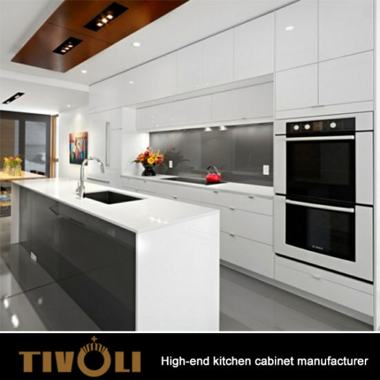 wholesale kitchen shelf liner china luxury style white cabinet mix with laminate for modern apartment design tv 0078