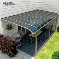 China Aluminum Polycarbonate Balcony Patio Cover - China ...