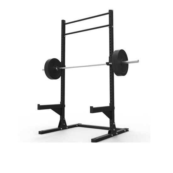 professional commercial free weight lifting gym fitness equipment squat rack