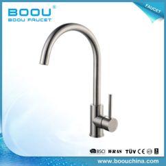 Wholesale Kitchen Faucets Glass Tile Backsplash China Boou Single Handle Brass Luxury Faucet