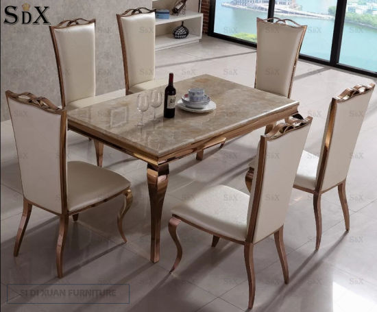 steel chair dining table leather rocking china high quanlity hotel banquet stainless for sets pictures photos
