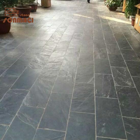 china natural black slate tiles china