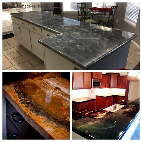 voc free no odor clear counter top kitchen epoxy resin