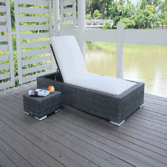 all weather garden chair trailer hitch chairs china poolside beach rattan daybed pictures photos