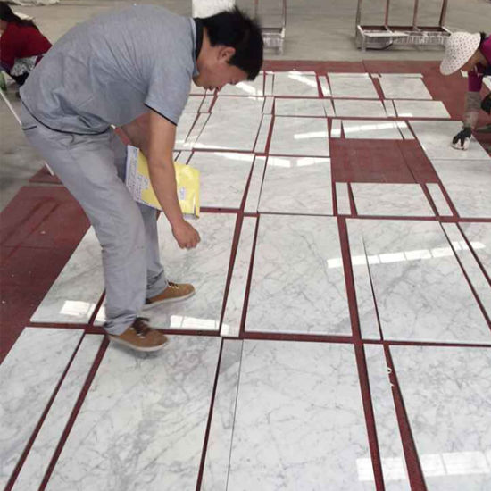 marble kitchen floor compact kitchens china natural italian polished bianco carrara white tiles pictures photos