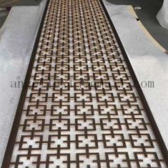 Decorative Screens For Living Rooms Room Decorating Ideas Tv Wall China Household Rose Gold Color Stainless Steel Screen Factory Price Pictures Photos