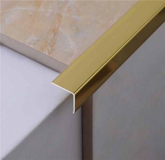 304 stainless steel metal tile trim