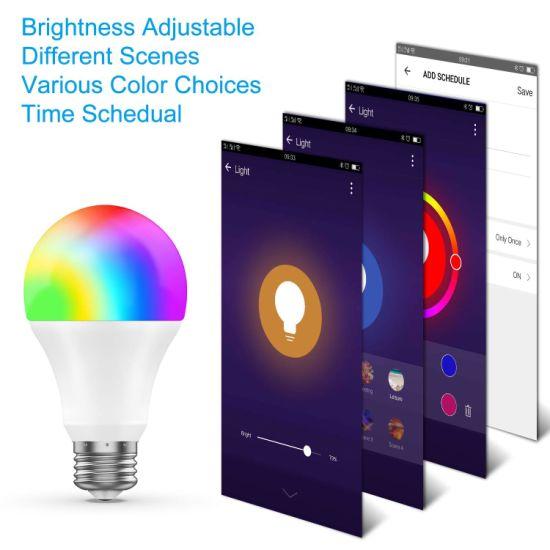 smart rgbw led bulb