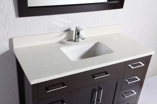 Solid Wood Bathroom Vanities With Soft Close Hinge Quartz Top China Bathroom Vanity Bathroom Vanities Made In China Com