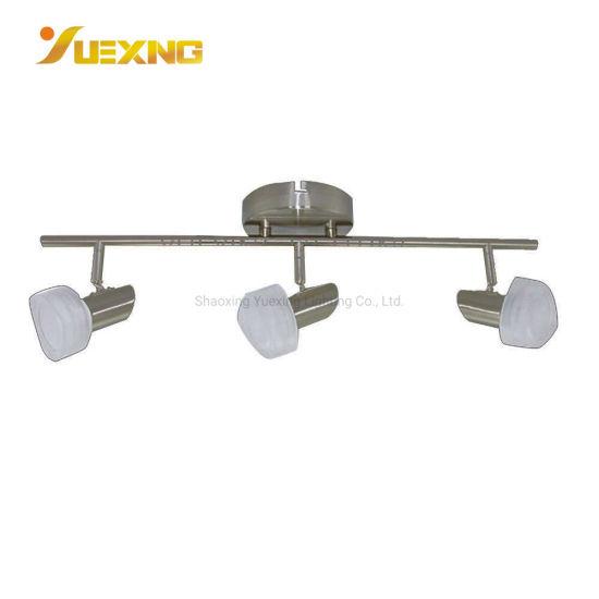 led 4 5w crystal acrylic glass iron 4 light track lighting adjustable modern ceiling spotlight four lights kitchen track spot lighting