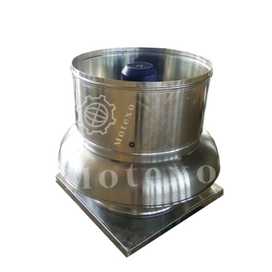 industrial upblast centrifugal roof mounted exhaust fans