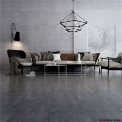 Dark Grey Flooring Living Room Table Centerpieces Ideas Rustic Large Format Cemento Porcelain And Ceramic Floor Wall Tiles China Cement Tile Matt Made In Com