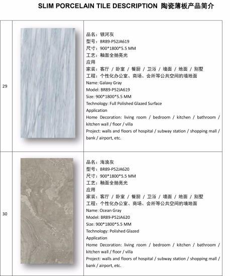 china 5 5mm thickness super thin slim