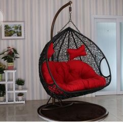 Hanging Chair Double Pottery Barn Swivel China 2017 New Bedroom Rattan Wicker Cane Egg Swing With Stand Seat Pictures