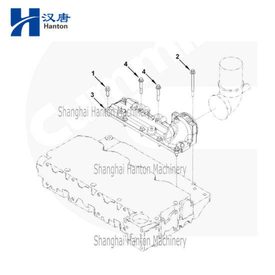 China Cummins auto diesel engine motor 4ISBE parts 4931263