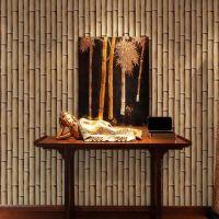 China Bamboo Design Interior Wall Decorative 3D Style