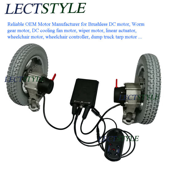 wheel chair motor guards for walls china electric dc brushless wheelchair with controller joystick lever pictures photos