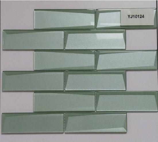 hot sale backsplash tile for kitchen bathroom glass mosaic tile