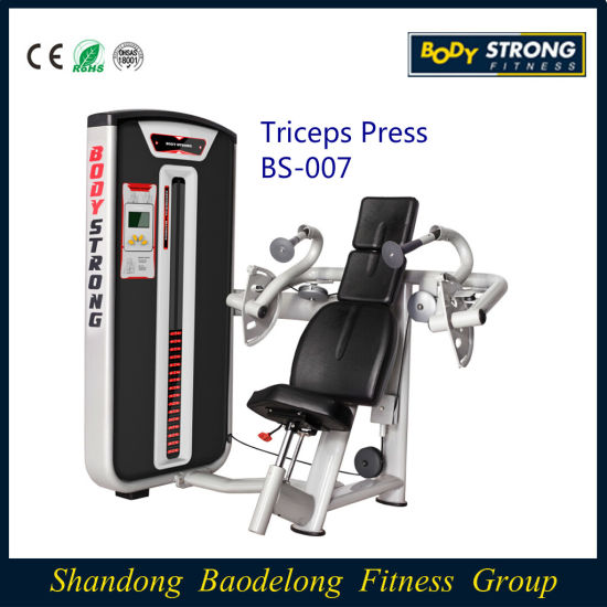 Professional Fitness Equipment Triceps Press Bs 007 China Triceps Press And Gym Equipment Price Made In China Com